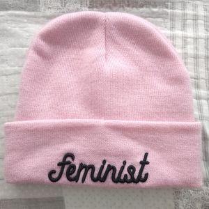 4/$20 Rare feminist beanie